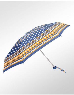 Sombrinha Super-Mini Fazzoletti Laranja e Azul