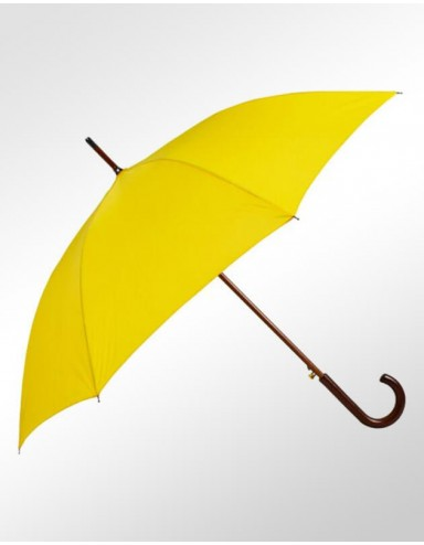 Guarda-chuva Fazzoletti Cabo de Madeira Amarelo Aspen