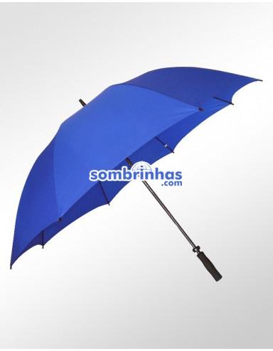 Guarda-Chuva Maxi Golf Fiberglass Azul Premium