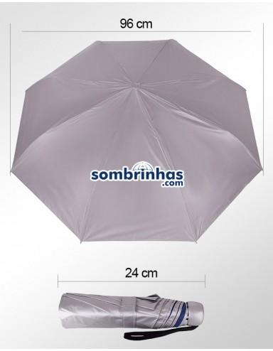 Sombrinha Fazzoletti Ultra Block FPU 50+  Com Proteção Solar