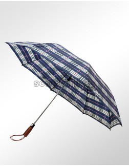 Guarda-Chuva Portaria Dobrável Automático Xadrez Belga