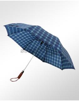 Guarda-Chuva Portaria Dobrável Automático Xadrez Holandês
