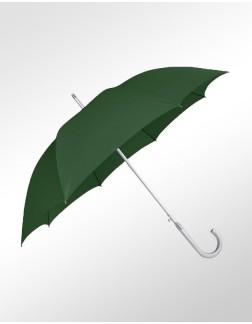 Guarda-Chuva Retrô Premium Verde Metalizado Abertura Automática
