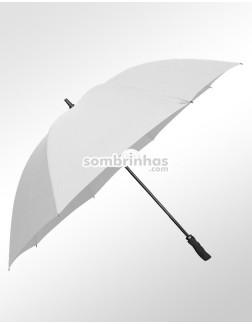 Guarda-Chuva Maxi Golf Fiberglass Branco Premium