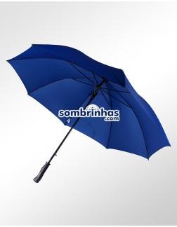 Guarda-Chuva Portaria Premium Maxi Vento Forte Azul
