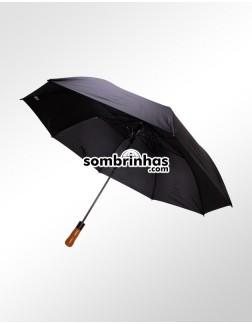 Guarda-Chuva Grande Portaria Elegance Preto
