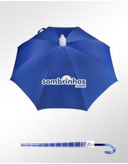 Guarda-Chuva Ronchetti Azul Premium com Coletor de Água