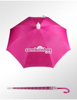 Guarda-Chuva Ronchetti Pink Premium com Coletor de Água