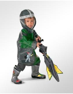 Capa de Chuva Infantil Kidorable Cavaleiro Medieval