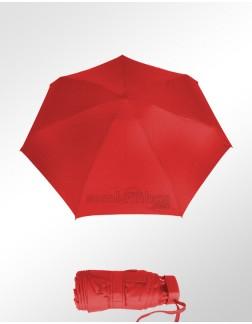 Sombrinha Super-Mini Fazzoletti Vermelha Lisa