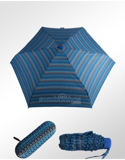 Sombrinha Super-Mini Fazzoletti Laura Azul com Estojo EVA