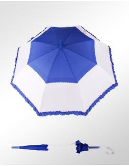 Sombrinha Ronchetti Azul com Babados