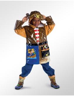 Capa de Chuva Infantil Kidorable Pirata