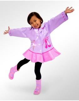 Capa de Chuva Infantil Kidorable Bailarina