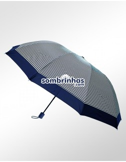 Sombrinha Duo Crome Maxi Vento Azul