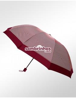 Sombrinha Duo Crome Maxi Vento Marsala