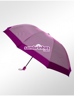Sombrinha Duo Crome Maxi Vento Pink