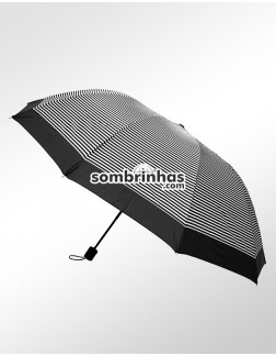 Sombrinha Duo Crome Maxi Vento Preta