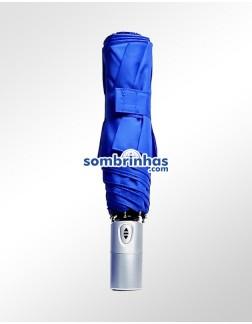 Sombrinha Fazzoletti Abre e Fecha Automático Azul
