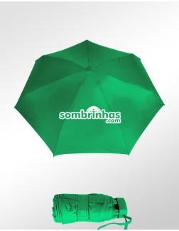 Sombrinha Super-Mini Fazzoletti Verde Bandeira Lisa