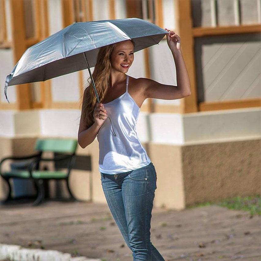 Sombrinha com Proteção Solar